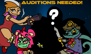 Awesomenauts Auditions by nicholangelo