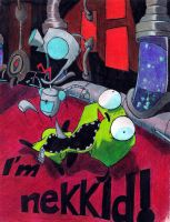 Gir Naked by Kaylalaperson