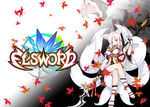 Elsword-Ara Eun Asura wallpaper by TopHatea