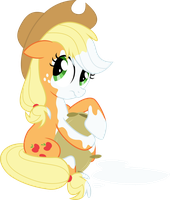 Applejack Flour Shower by hotsun6392