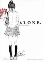 Alone. by emichancanfly