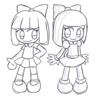 Sketch: Emily and Emily by Alenonimo