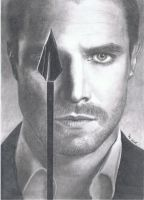 Stephen Amell / Oliver Queen - Arrow by synystia
