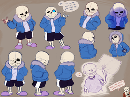 Smol Skele Skullection by Fourth-Star