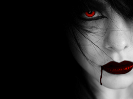 Gothic Vampire by Sapphire-Rose15