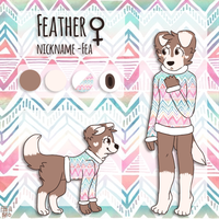 Feather REF :gift: by She-Foxy