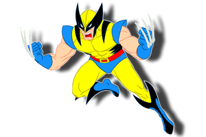 wolverine blue by AlanSchell