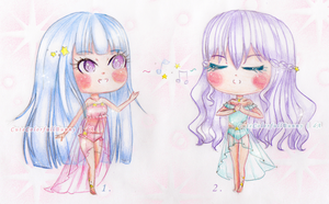 Adoptables CLOSE!~ Goddesses of Music by MyStarryDreams