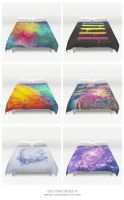 Duvet Covers on Society6 by mrsbadbugs
