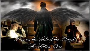 I'm on the Side of the Angels - The Fallen One by Into-Dark