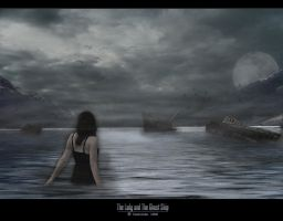 The Lady and The Ghost Ship by darkvinder