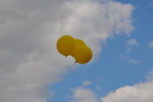 Yellow Balloons by Stichflamme-Stock