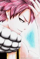 It's cold, but not to me... ~~Natsu Dragneel by haru4lavi