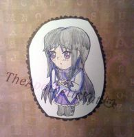 Chibi Homura Doodle by TheApatheticKat