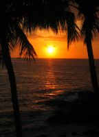 Sunset in Hawaii 3 by silversilence