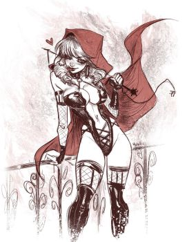 Little red - mistress by MirkAnd89