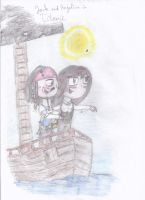 Jack and Angelica Titenic scene by Shadilver-Eclipse