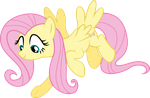 Fluttershy Flying by shaynelleLPS