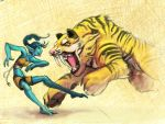Sparring by L-MakesArt