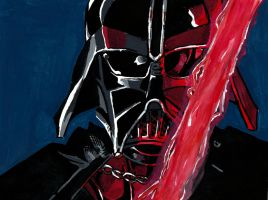 Darth Vader by meralc