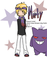 Pokemon Gym Leader: Morty by Stephy-Meow