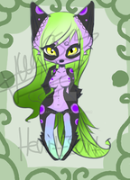 Female Anthro Adoptable CLOSED by HeartEsart