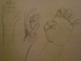 20 minute hand study by Ultimaodin