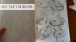 My sketchbook. Review by Ket-DawnAtSunset