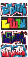 Gowsk stickers by gowsk
