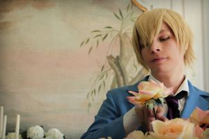 Tamaki over Flowers by Tamarui