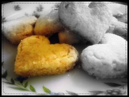 Coconut cookies by Olivares