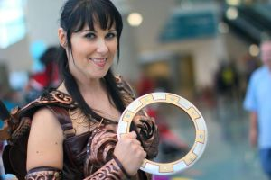 Xena at comikaze 2013 by ModernXena