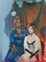 oil portrait from life by jaiquanfayson