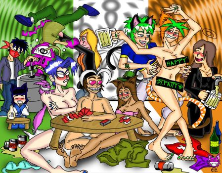 RETROPOST: Happy St. Patty's by CheshireCaterling