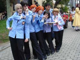 Ouran Host Club - Cosplay - by HaruchanFujioka