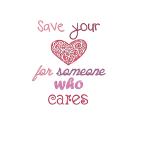 Save your heart for someone who cares by JanuaryLOVER