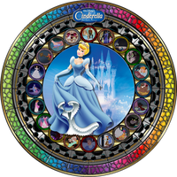 Masterpiece Cinderella Stained Glass by Maleficent84