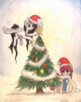 Oh, Christmas Tree (Request 4 Kagome/Gift 4 Sohma) by TheFriendlyElephant