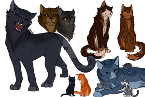 Warrior Cats, but Happier by EjayNoir