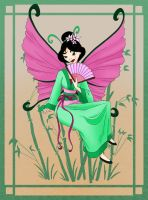 Butterfly Fairy by PadawanLinea