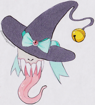 Monster Witch by SweetTangie