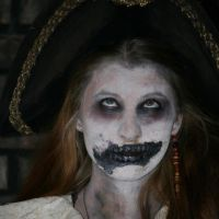 2012 Halloween costume make up by ContntlBreakfst
