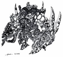 Ork Boss by bmkorkut
