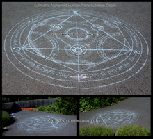 Human Transmutation Circle by nymph-of-artemis