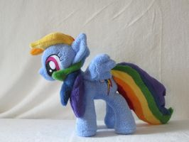 Rainbow Dash Plushie updated by Irontree1973