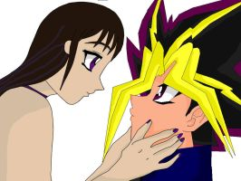 Britt x Atem by QueenBrittStalin