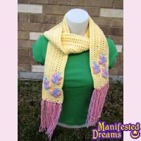 Fluttershy inspired Scarf by ManifestedDreams
