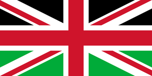 Union Jack without Scotland - third variant by SMiki55