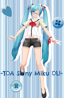 -TDA Shiny Miku DL- by Sushi-Kittie