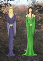 The Lord of the Rings fashion designes by Whiterisu